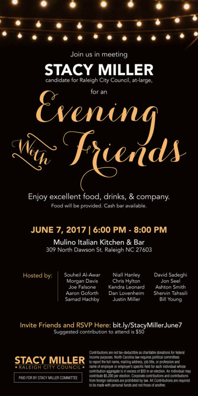 Stacy Miller: Evening with Friends