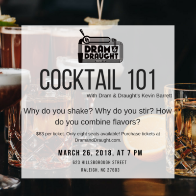 Cocktail 101 with Kevin Barrett