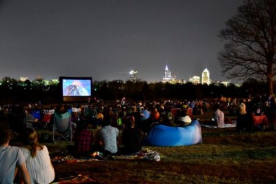 Movie By Moonlight at Dix Park - Free