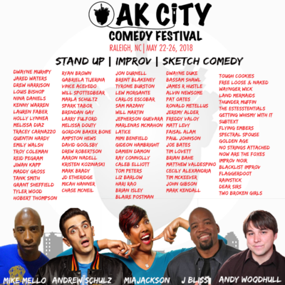 Oak City Comedy Festival